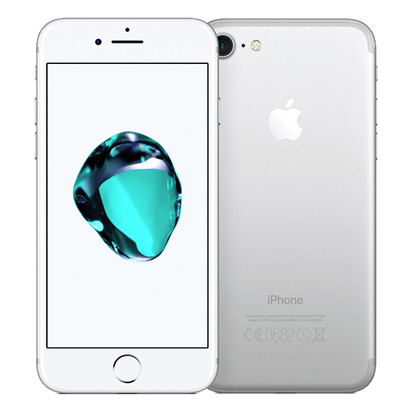 refurbished iphone 7 wit zilver