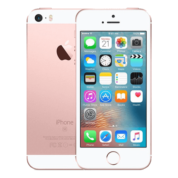 refurbished iphone se 2016 rose goud