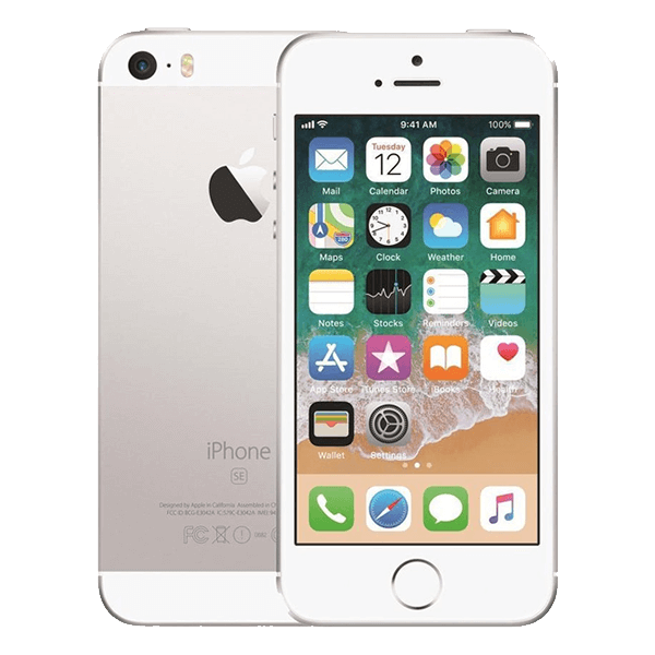 refurbished iphone se 2016 wit zilver